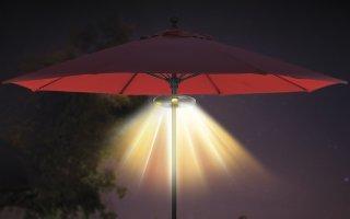 Lyd og lys på terassen