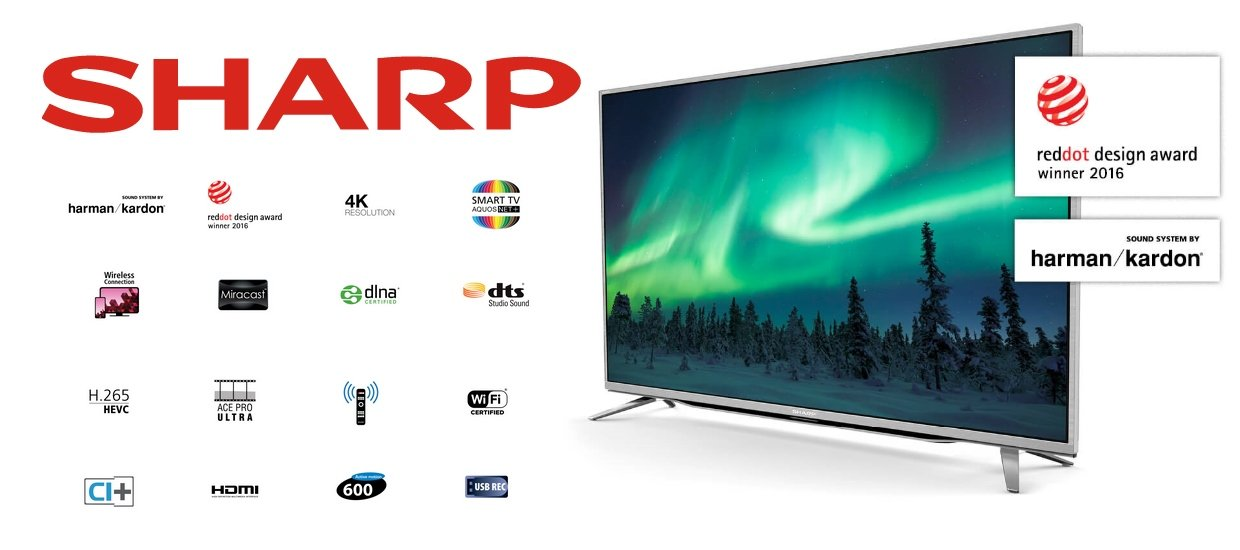 SHARP TV FRA VILLADSEN
