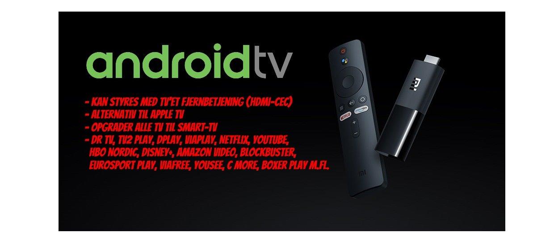 OPGRADER ALLE TV MED SMART-TV<br>