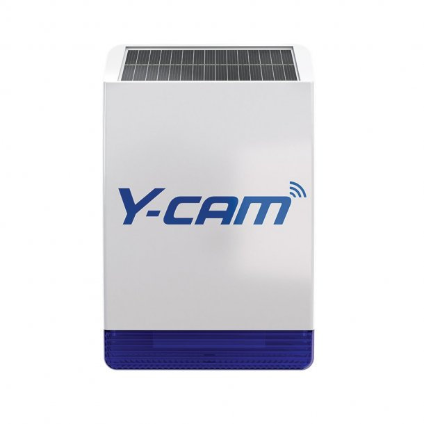 Y-CAM Protect Solar Outdoor Siren