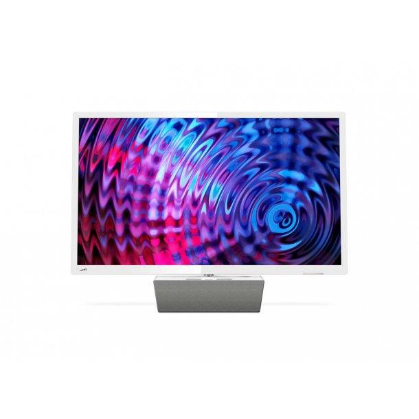 Philips 24PFS5863 24'' TV i hvid højglans