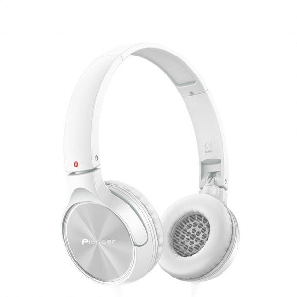Pioneer SE-MJ522-W  on-ear hovedtelefon - hvid