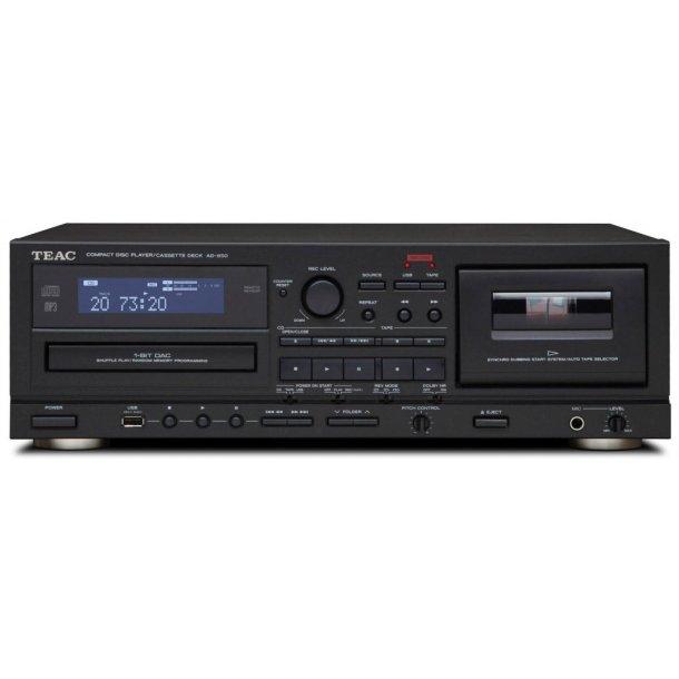 TEAC AD-850 kasettebånd-optager / CD-afspiller