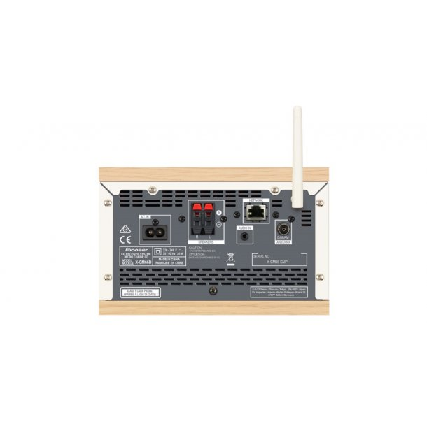 Pioneer X-CM66D-W minianlæg m. DAB+/Internet - HVID