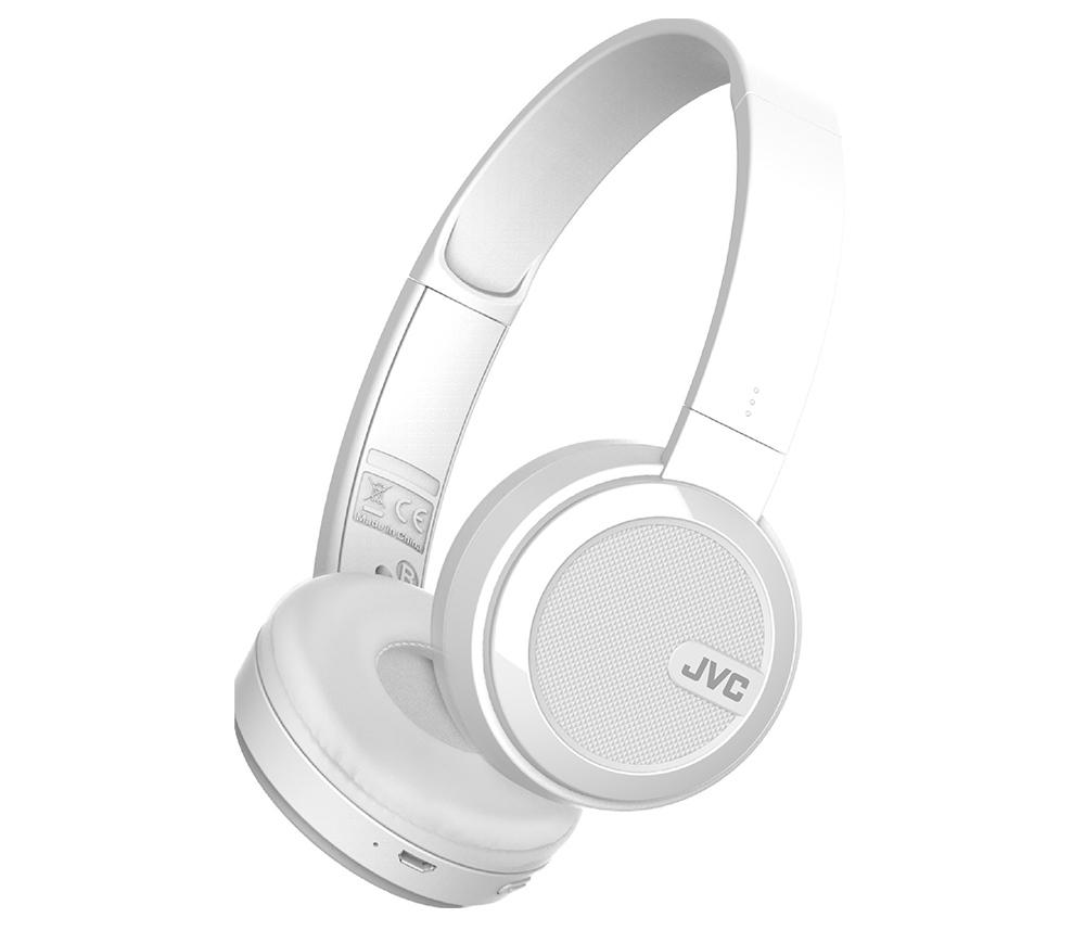 JVC HA-S40BT-W-E Bluetooth headset - HVID - Hovedtelefoner (trådløs ... 49db9f3b52