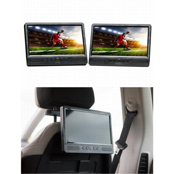 DENVER MTW-1085TWIN transportabel DVD-afspiller - DVD/Blu-ray afspiller/optager - Villadsen Agentur