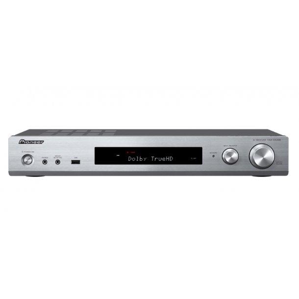 Pioneer VSX-S520D-S surround receiver m. DAB+ - SØLV