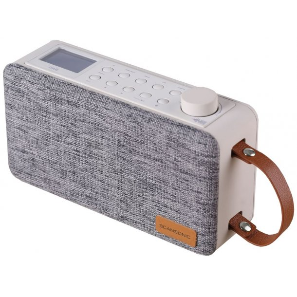 Scansonic PA6000 DAB+ radio m. bluetooth