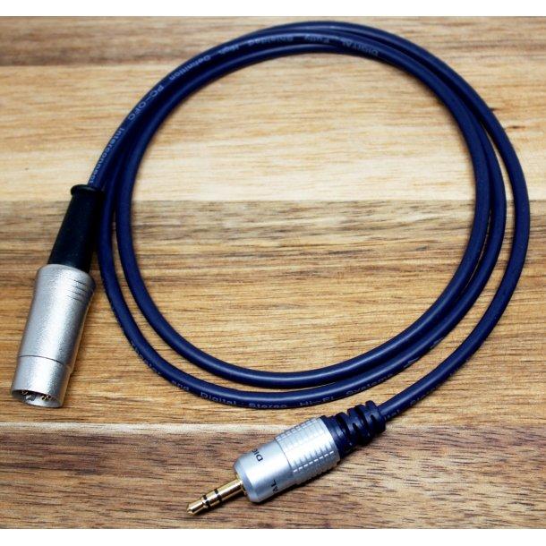Hall Audio mini-jack til B&O 7P DIN - 1 meter