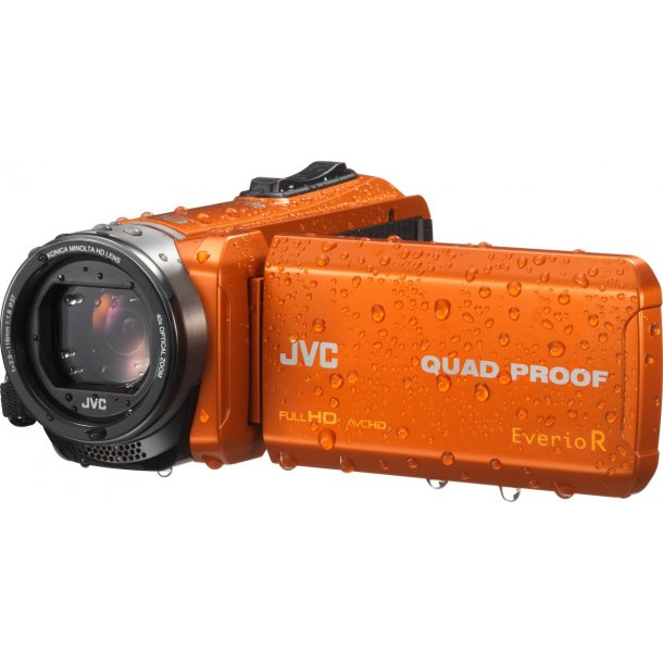 JVC GZ-R445DEA videokamera - ORANGE
