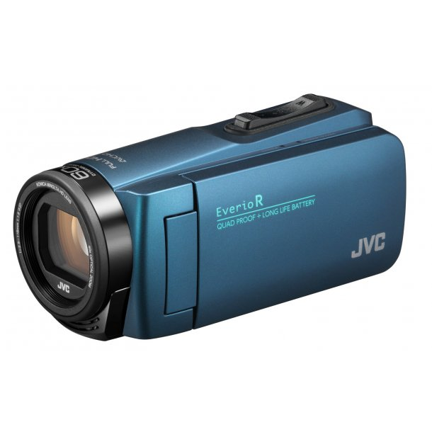 JVC GZ-R495AEU videokamera - BLÅ