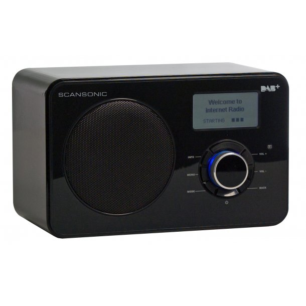 SCANSONIC IN220BT FM/DAB+/INTERNET RADIO - SORT