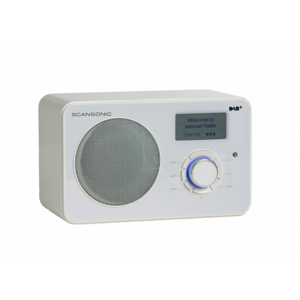 SCANSONIC IN220BT FM/DAB+/INTERNET RADIO - HVID