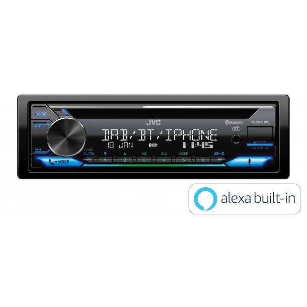 JVC KD-DB912BT DAB+ autoradio med Alexa