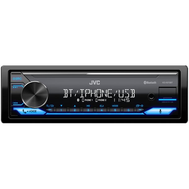 JVC KD-X372BT digital media receiver med Amazon Alexa
