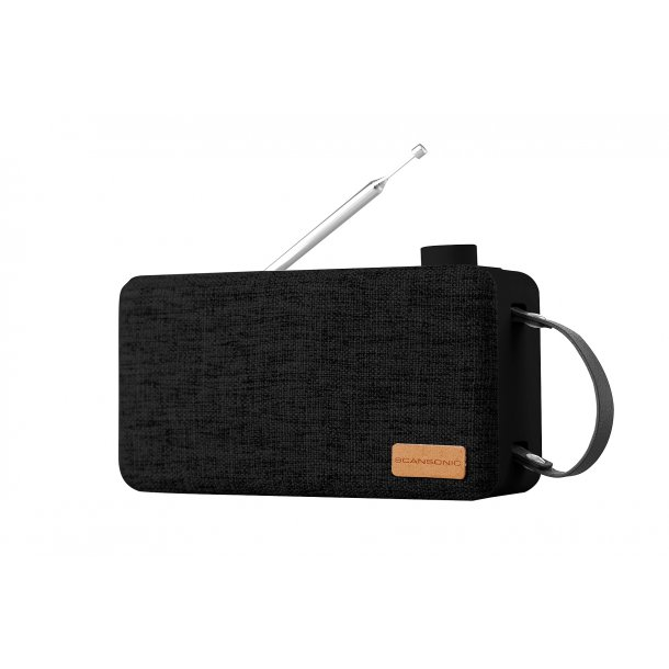 Scansonic PA6001 DAB+ radio med bluetooth - SORT