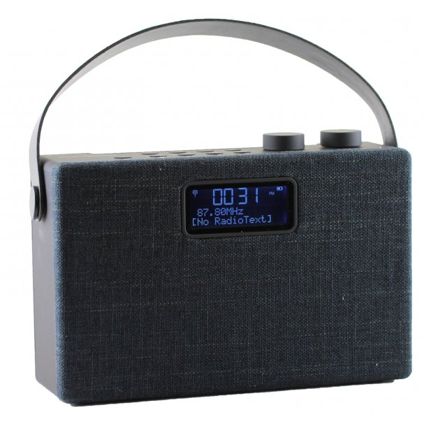 Scansonic PA7001 DAB+ radio med bluetooth - SORT