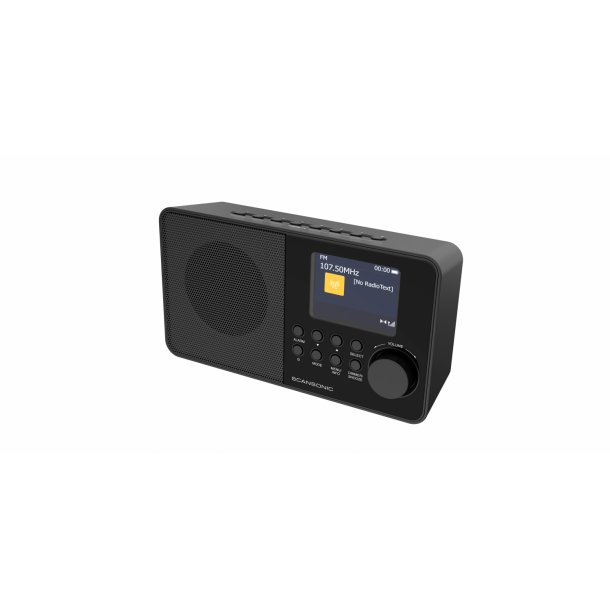 SCANSONIC DA220 FM/DAB+ RADIO - SORT