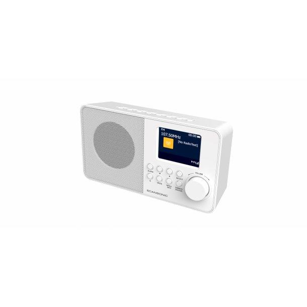 SCANSONIC DA220 FM/DAB+ RADIO - HVID
