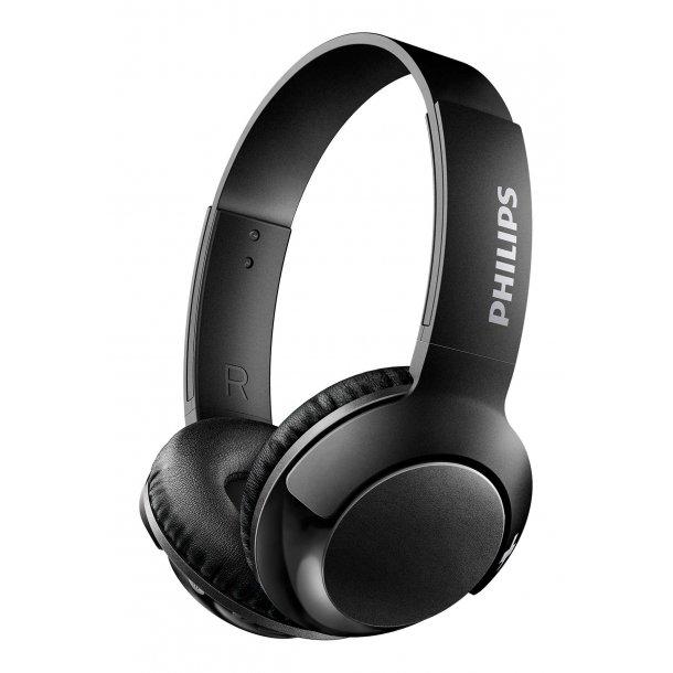 Philips SHB3075BK on-ear bluetooth hovedtelefon - SORT