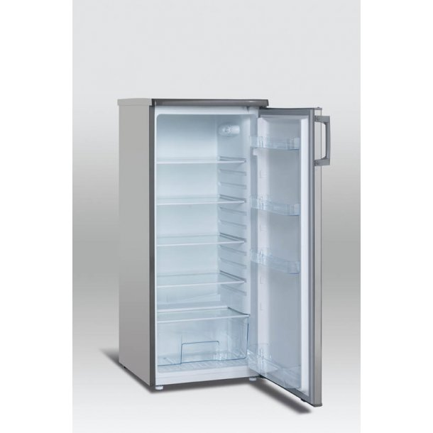 Scandomestic SKS 200-1SS A++ køleskab - stål