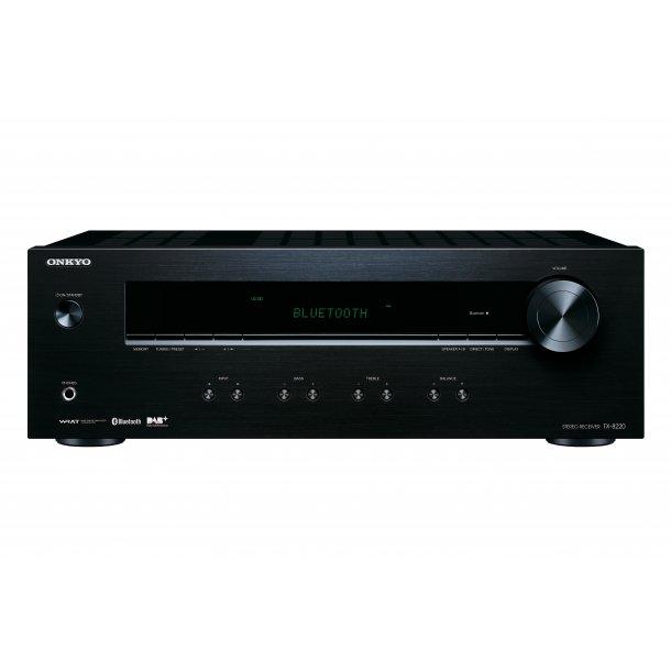 Onkyo TX-8220-B stereo receiver med DAB+ - SORT