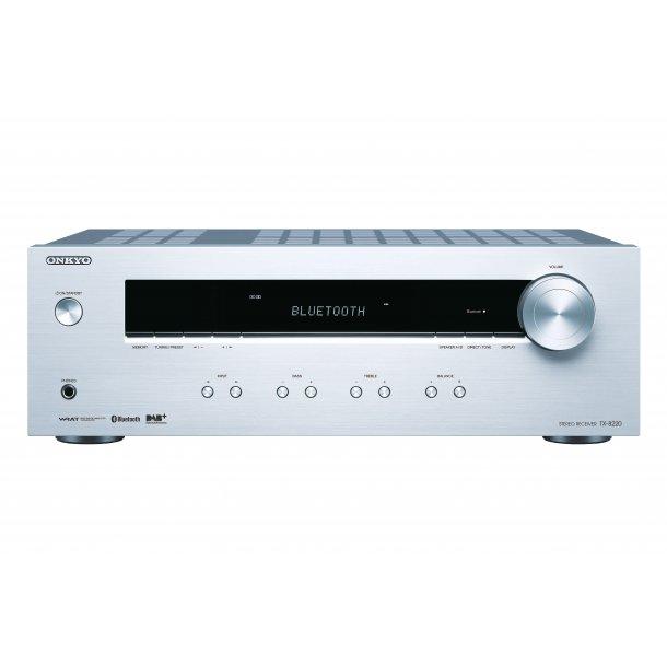 Onkyo TX-8220-S stereo receiver med DAB+ - SØLV