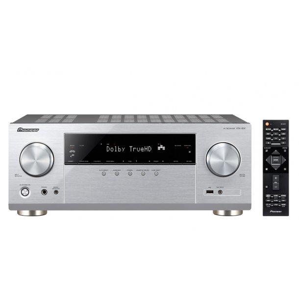 Pioneer VSX-832-S surround receiver - SØLV