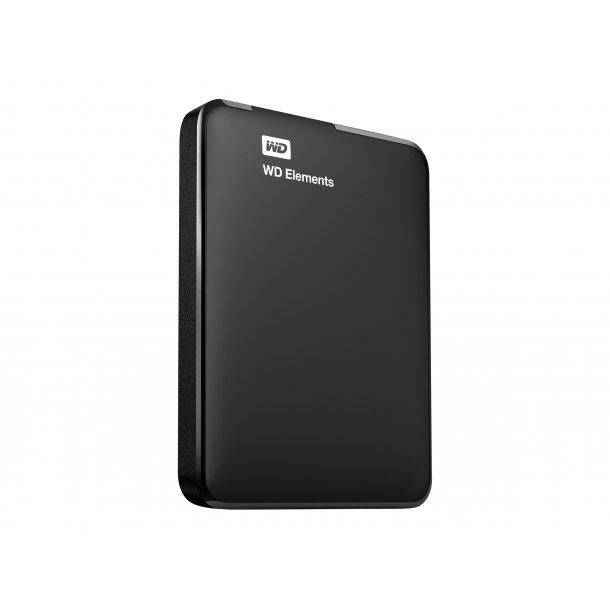 WD Elements 500 GB harddisk med USB 3.0