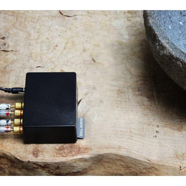 Hall Audio Hall 2x8W trådløs forstærker med bluetooth - SORT
