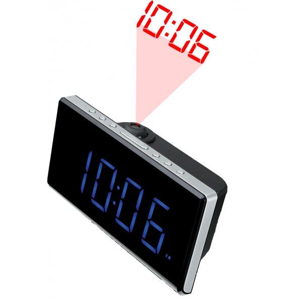 Denver CRP-515 clockradio med projektion